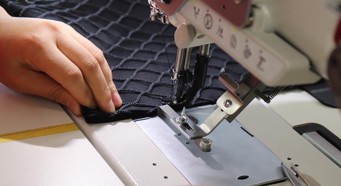 バック縫製