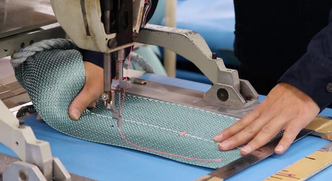 フレコンバッグ・保冷ボックスの縫製